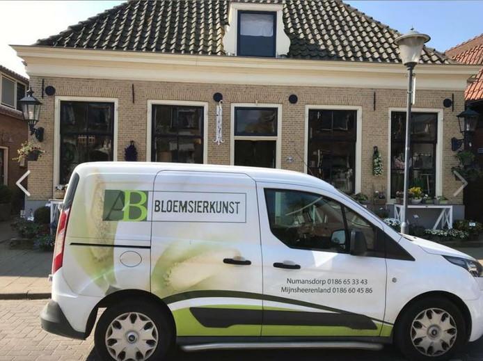 A/B Bloemsierkunst sluit de deuren in Mijnsheerenland. De vestiging in Numansdorp blijft wel open.