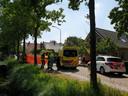 Fietsster overleden na ernstig ongeval in 's Gravenmoer.
