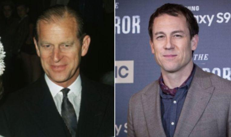 Prins Philip en Tobias Menzies.