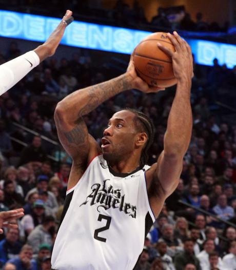 Leonard maakt opnieuw minimaal 30 punten en leidt Clippers langs Mavericks