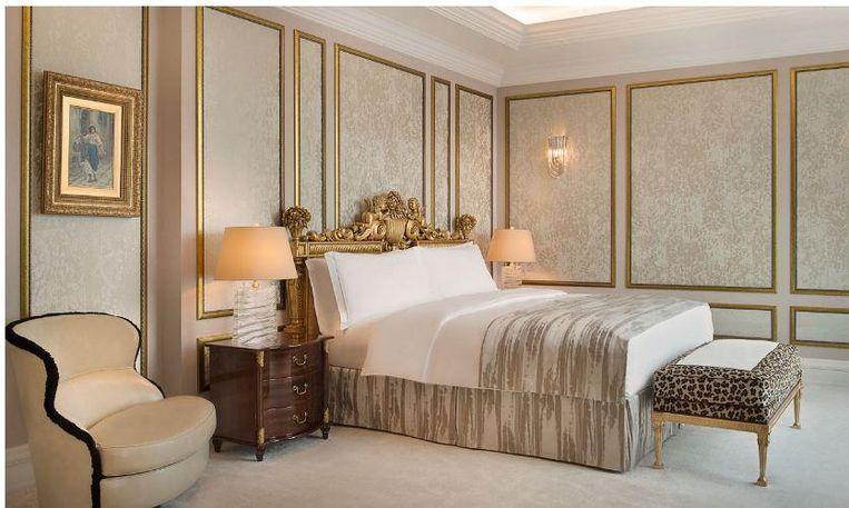 De presidentiële suite in het Ritz-Carlton in Moskou.
