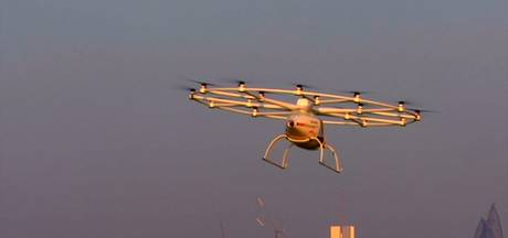 In Dubai worden dronetaxi's getest