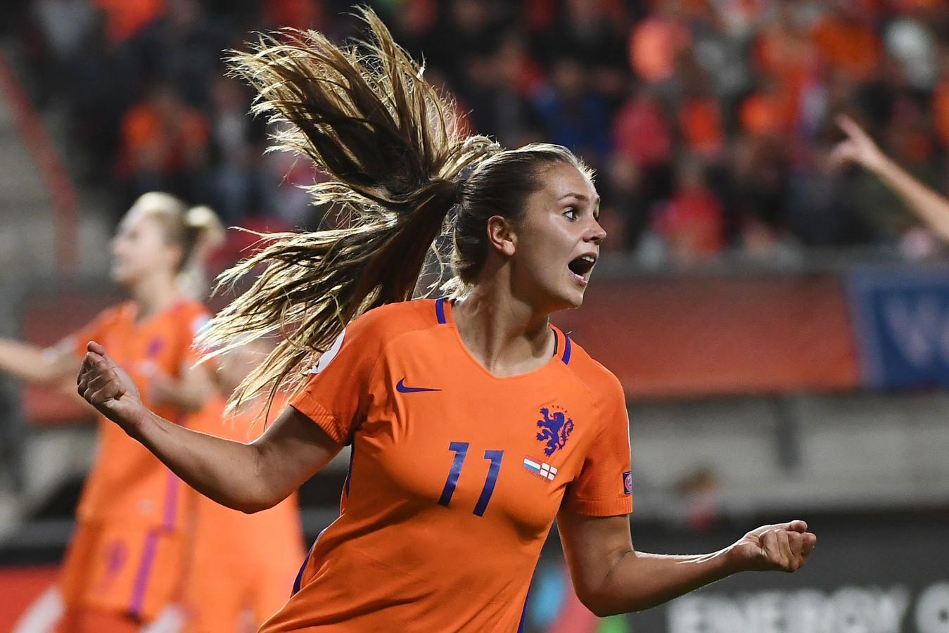 Lieke Martens maakt kans op de eerste Ballon d'Or voor vrouwen.