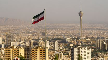 Aardbeving ten oosten van Teheran