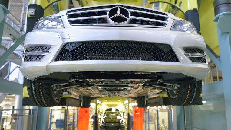 Merkel verdedigt thuismerken Audi, BMW en Mercedes Beeld ANP