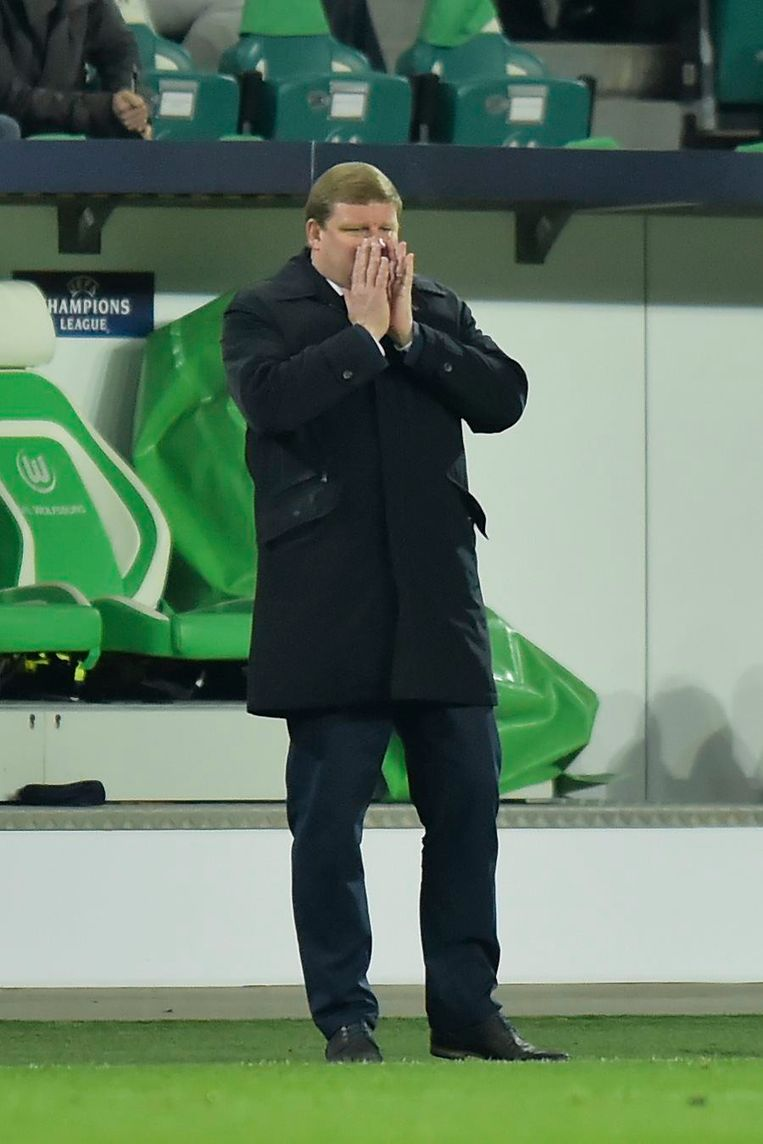 Vanhaezebrouck had een plan maar Wolfsburg trapte niet in de val