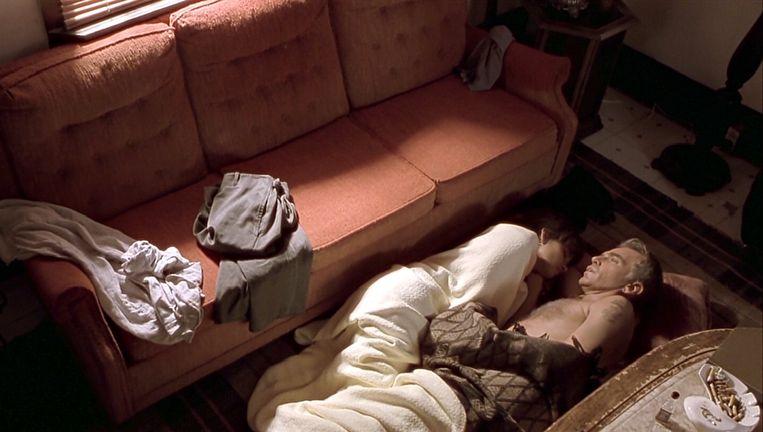 Halle Berry en Billy Bob Thornton in Monster's Ball. Beeld