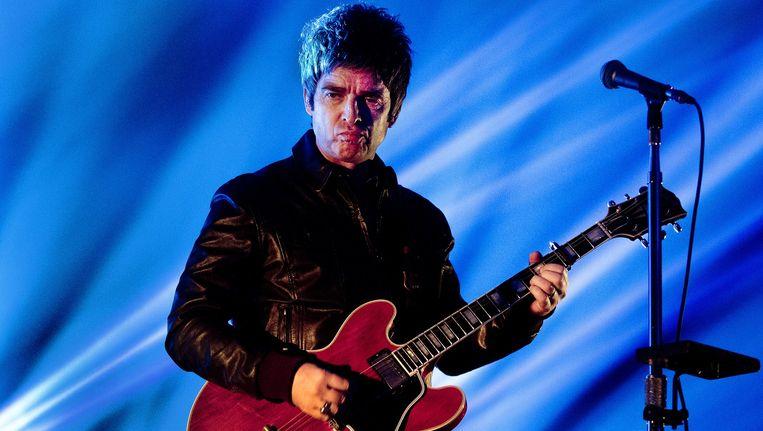 Noel Gallagher in de Heineken Music Hall maandagavond Beeld Paul Bergen