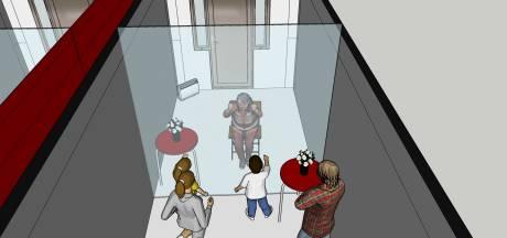 Toch veilig op bezoek bij opa of oma: mobiele bezoekkamer in Asten
