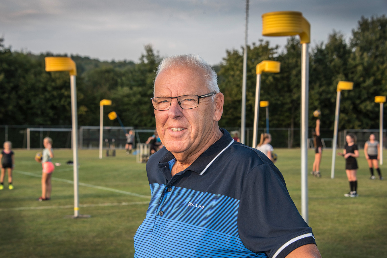 Johnny Vervoort, trainer van SPES.