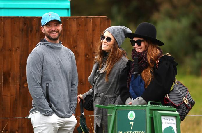 Justin Timberlake en Jessica Biel.