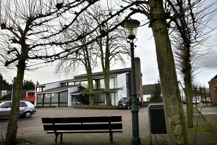 Het voormalige gemeentehuis van Westerhoven.