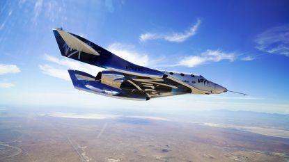 Virgin Galactic doet geslaagde test in aanloop naar ruimtetoerisme