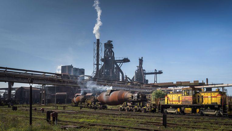 De Hoogovens van Tata Steel Beeld anp