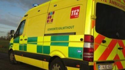 Opzij, opzij, opzij voor ambulance, maar we weten niet hoe