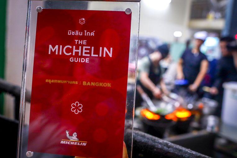 Een Michelin-onderscheiden restaurant in Bangkok, Thailand. Beeld EPA