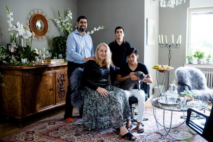 Politica Lisa Gerlach, van de piratenpartij, nam zelf drie minderjarige vluchtelingen in huis.