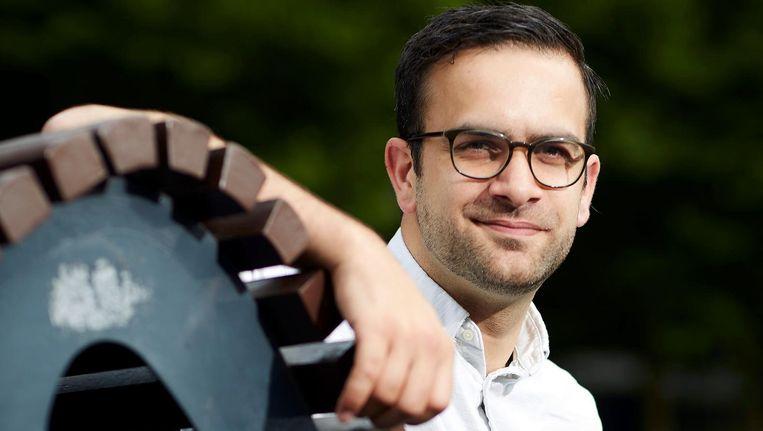 Halil Karaaslan: 'Nederlandse media meten met twee maten'. Beeld Phil Nijhuis