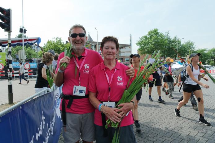 Hilaire de Mey 67 en Maria Fassaert 68 uit Koewacht 30 km.