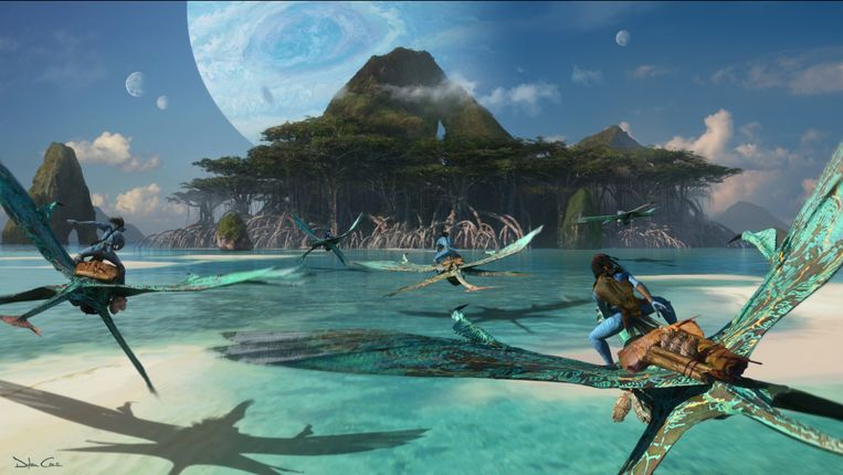 James Cameron deelde de eerste schetsen van het langverwachte vervolg op 'Avatar'