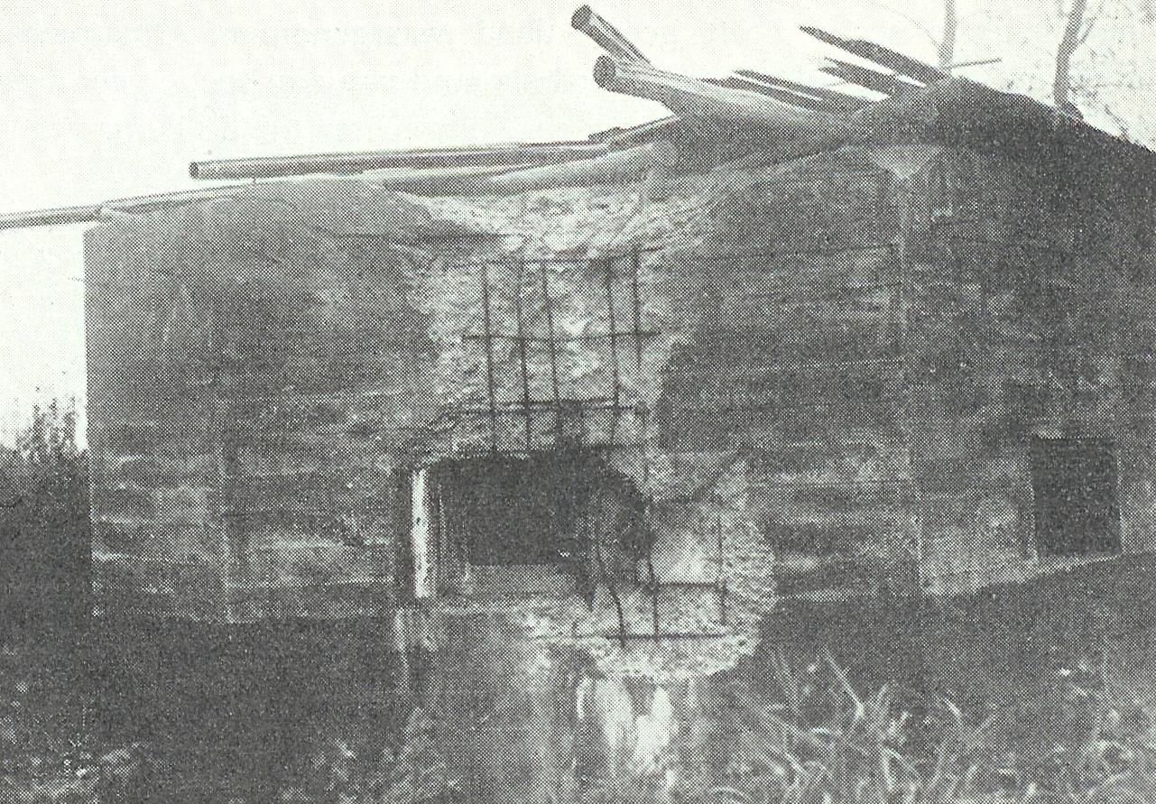De bunker in Roermond waarin Marien de Wit sneuvelde.