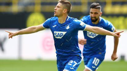 Zwak Dortmund krijgt klappen van Hoffenheim in eigen huis, Kramaric scoort maar liefst vier doelpunten