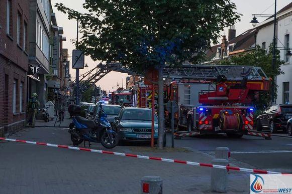 Een brand bracht zware schade aan een flat op de eerste verdieping van een appartementsgebouw in Zaventem aan.