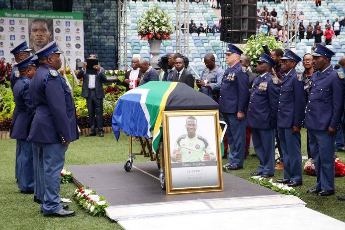 De begrafenis van Senzo Meyiwa