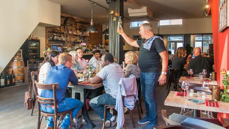 Oresti's taverna Beeld Jesper Boot
