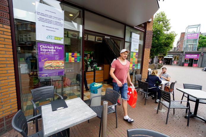 Broodjesketen Subway sluit eind van de maand de vestiging aan de Marikenstraat in Nijmegen.