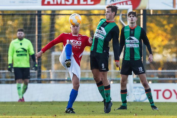 De zondagtak van RFC is, net als de zaterdagtak, nog zonder puntenverlies. Tegen Dussense Boys werd alweer het zestiende doelpunt van het seizoen gescoord. (archieffoto)