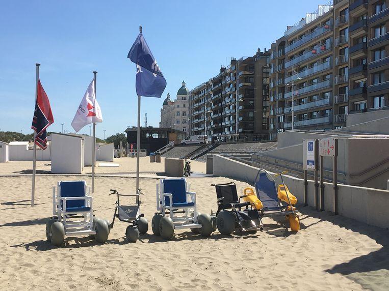 Geen strandrolstoelenbeurs dit jaar.