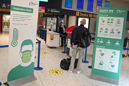 """Twee weken quarantaine voor reizigers die aankomen in Groot-Brittannië: """"Toeristen zullen hun voorzorgen moeten nemen"""""""