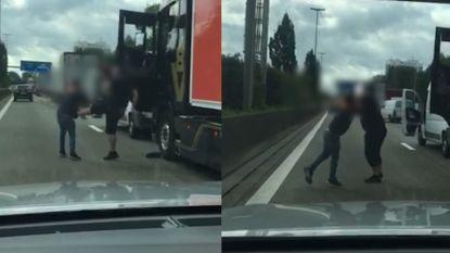 Verkeersagressie op de Antwerpse Ring: bestuurders gaan op de vuist