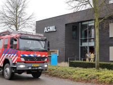 Brand in oven van gebouw ASML in Oirschot
