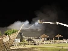 Grote brand verwoest deel restaurant vakantiepark in Zeewolde