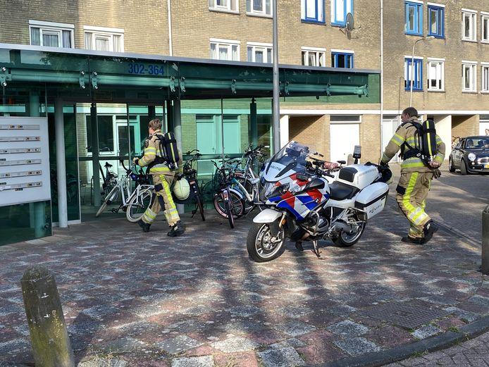 Dinsdagavond is er een waterlekkage ontstaan in een flatwoning aan de Wortmanstraat in Kampen. Bij binnenkomst van de woning werd er een wietplantage aangetroffen.
