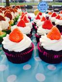 Cupcakes van de onderneemster