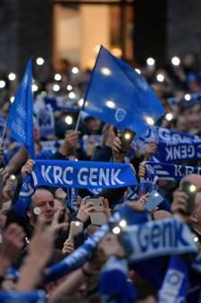 Des milliers de supporters en liesse à Genk