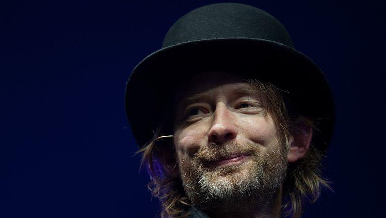 Thom Yorke (Radiohead) Beeld afp