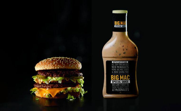 Win op HLN een fles geheime Big Mac-saus.