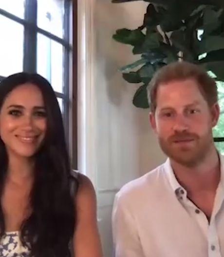 Harry et Meghan font une première apparition depuis leur nouvelle villa