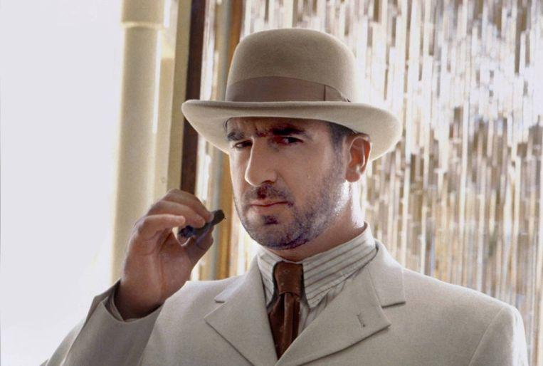Eric Cantona. 'Iedereen houdt in Frankrijk van Eric Cantona, een plezierig buitenbeentje.' Beeld HH