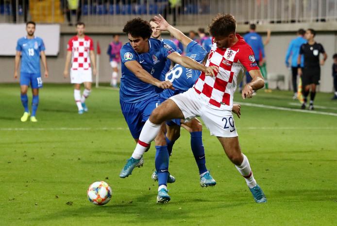 Bahlul Mustafazade en Bruno Petkovic (Kroatië)