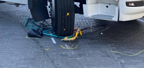 Une cycliste écrasée par un camion sur le piétonnier bruxellois