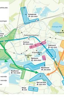 Hier gaat Rotterdam de komende jaren tienduizenden huizen bouwen