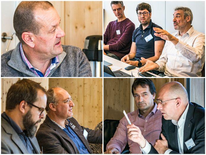 Membres du panel : Stefaan Paulus (CSB Waste Solutions), Luc Vermeeren (Ecopower), Wim Vanlede (Stroomop), Ludwig van Wonterghem (Stroomop et ÖkoFEN), Benjamin Clarysse (Bond Beter Leefmilieu), Michel De Paepe (Pixii),  Francies Van Gijzeghem (ABDE Solutions) et Christophe Fonteyne (Polvo).