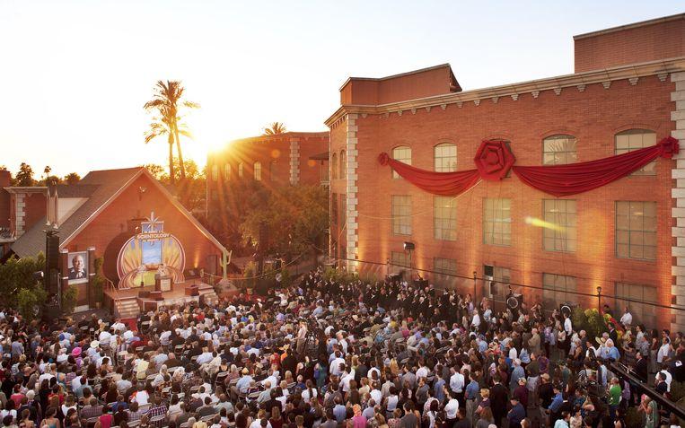 De opening van een nieuw Scientology-pand, een zogenoemde 'ideal org', in de Amerikaanse stad Phoenix. Beeld Scientology Newsroom