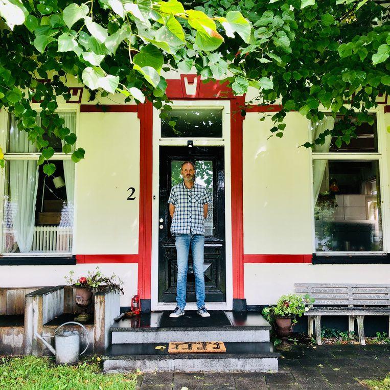Meindert Talma thuis in Noordhorn. Beeld Margriet Oostveen