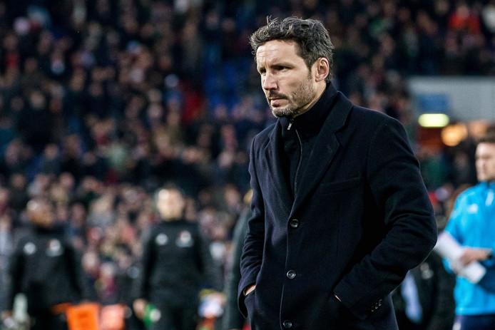 Mark van Bommel pakte als coach de winst in zijn eerste 13 eredivisieduels. Pas in wedstrijd 14 was er verlies, in de Kuip.